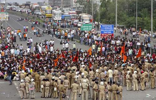 Maharashtra Bandh against CAA NRC