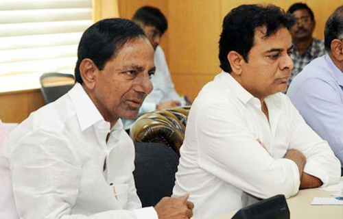 TRS takes the lead in municipal poll results