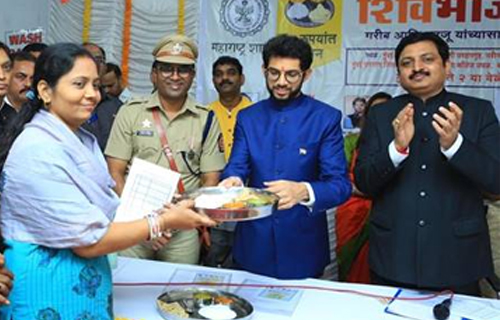 Shiv Bhojan Thalis for just 10 Rs : Uddhav Thackeray
