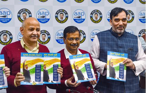 Aam Aadmi Party Manifesto brief