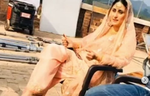 Kareena Kapoor's First Look Leaked from Laal Singh Chaddha