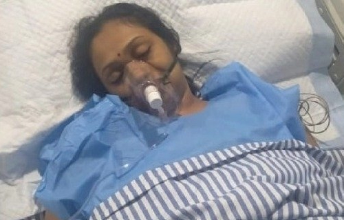 Actress Jayashree attempts suicide